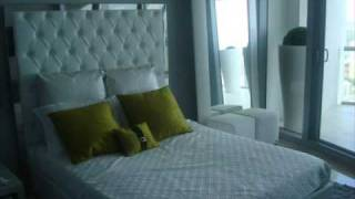 Jade Ocean Sunny Isles condo apartment model finished by Fendi Casa furniture
