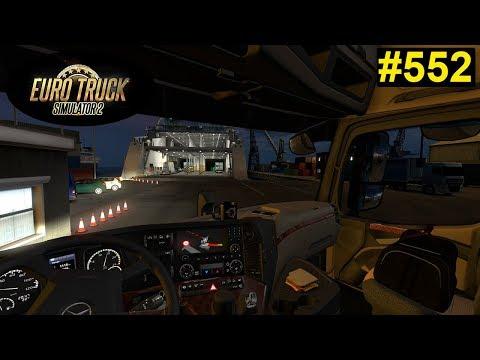 Euro Truck Simulator 2 Am Hafen In Griechenland Waren Wir 552 Deutsch German