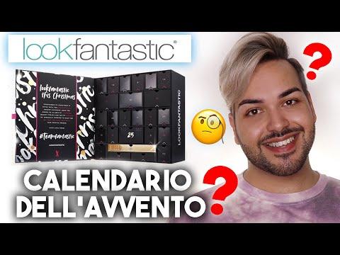 CALENDARIO DELL'AVVENTO LOOKFANTASTIC 2020