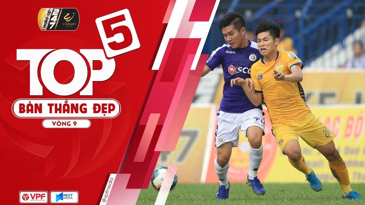 Top 5 bàn thắng đẹp vòng 9 - Wakeup247 VLeague1 2019: Lần đầu cho Trọng Hùng | VPF Media