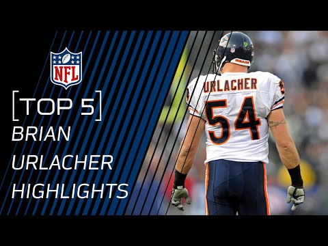 Top 5 Brian Urlacher Career Highlights | NFL