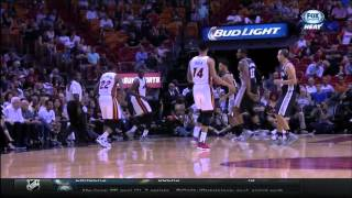 October 12, 2015 - FOX Sports Sun - Preseason Game 03 Miami Heat Vs San Antonio Spurs- Win (01-02)