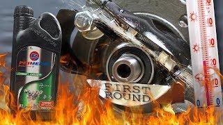 Primerol 10W60 Racing Jak skutecznie olej chroni silnik? 100°C