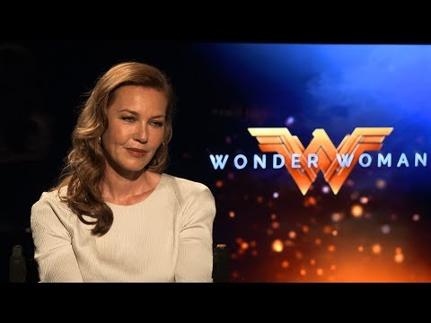 Interview with Connie Nielsen for Wonder Woman