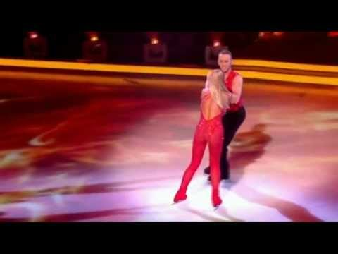 Jennifer Ellison cuts head open with skate on Dancing On Ice  12th February 2012