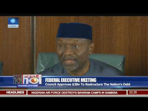 FEC Meeting: Council Approves $3Bn To Restructure The Nation's Debt