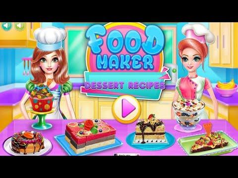 Permainan Anak Perempuan Seru Game Masak Masakan Membuat Kue Video Sportnk