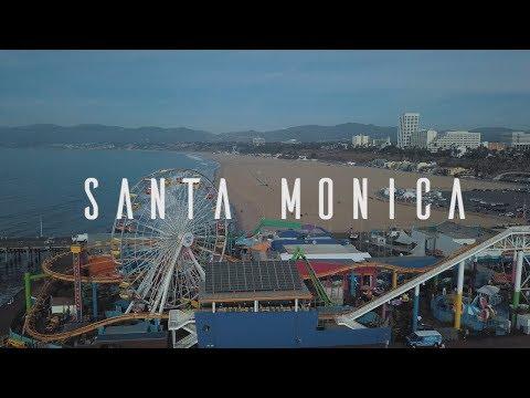 Santa Monica | DJI Mavic Pro Drone Flight