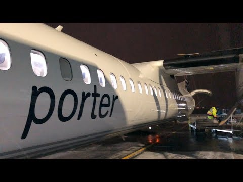 ✈ FLIGHT REPORT - Porter Q400 - Boston To Toronto Island (PD949) BOS-YTZ