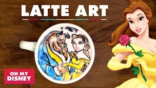Latte Art: Beauty and the Beast | Sketchbook by Oh My Disney