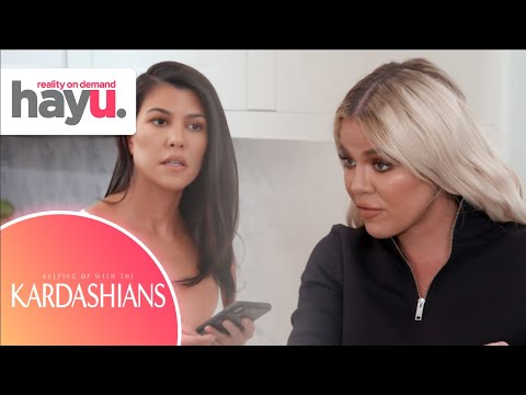 Khloé Always Sides With Kim And Production | Season 18 | Keeping Up With The Kardashians