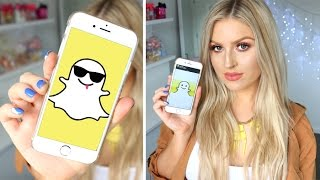 Snapchat Q&A! ♡ Favorite YouTubers, Makeup, Travel!