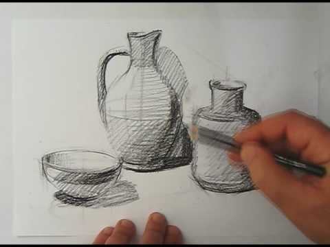 How to shade a drawing (light & shadow: part 2 of 3) | will kemp.