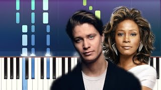 Kygo, Whitney Houston - Higher Love (Piano tutorial) Video