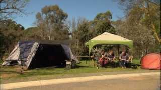 Coxy Explores Castlemaine Part 3 -   Preparing Camping Meals - Castlemaine Gardens Holiday Park