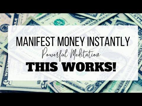 Manifest Money FAST | 15 Minute Meditation