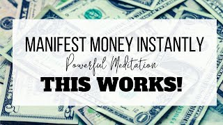 Manifest Money FAST | 15 Minute Meditation