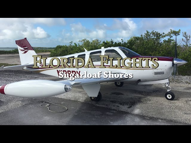 FLORIDA FLIGHTS: Landing at an exclusive PRIVATE AIRSTRIP in the Florida Keys