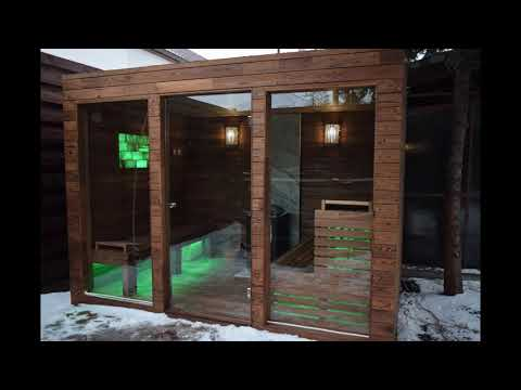Homemade Outdoor Sauna Build - Time Lapse