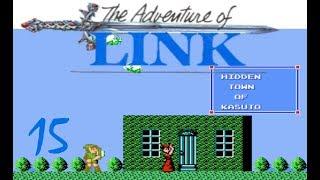 Zelda II: The Adventure of Link #15 Die Geheimnisse der versteckten Stadt [Blind/German/Let