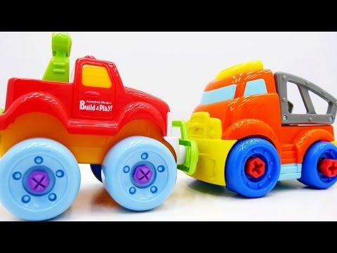 Экскаватор, грузовичок и игры для мальчиков. Развивающие мультики про машинки Мультики про дружбу