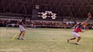 [すごプレ23]高校ソフトテニス近畿インドア2014 準決勝 内本丸山ー新子星野 thumbnail