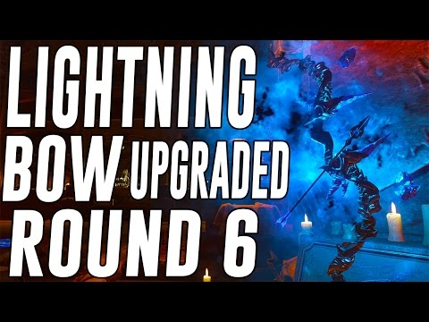How To Upgrade The Lightning Bow By ROUND 6 on Der Eisendrache (Call of Duty Black Ops 3 Zombies)