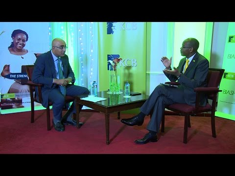 An Interview with CEO Kenya Commercial Bank Joshua Oigara #KCBHYResults