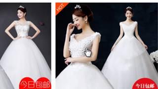 Как я заказываю платья из Китая видео с экрана.