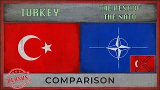 TURKEY vs THE REST OF THE NATO   Military Comparison - Who Would Win? (2018)
