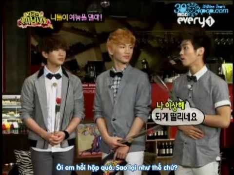 [Vietsub] Every1 Flower Boys Generation Ep 14 Part 3/5 with SHINee & Super Junior [360Kpop]
