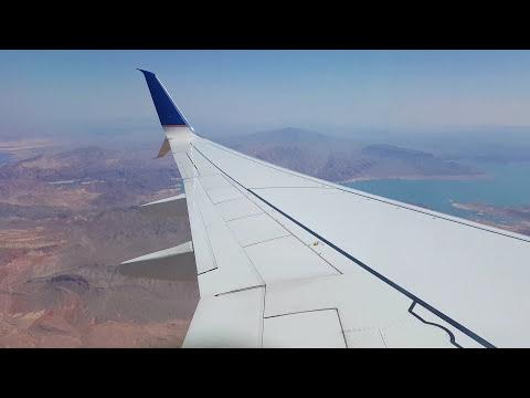 Aterrizaje en Las Vegas, Nevada, Estados Unidos de América