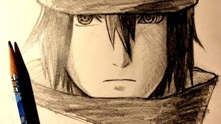ASMR | Pencil Drawing 63 | Sasuke Uchiha / The Last (Request)