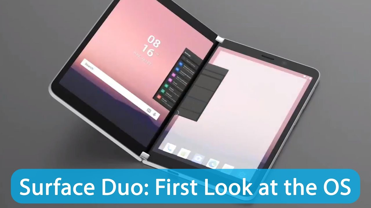 Surface Duo: First Look at the brand new OS