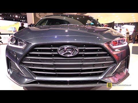 2019 Hyundai Veloster Exterior and Interior Walkaround 2018 Detroit Auto Show