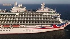 7 P&O Cruise Ships in Weymouth Bay