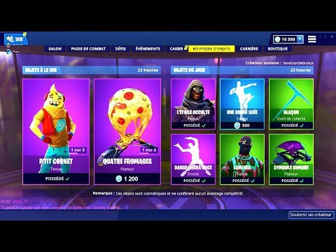 BOUTIQUE FORTNITE du 18 Fevrier 2019 ! ITEM SHOP February 18 2019