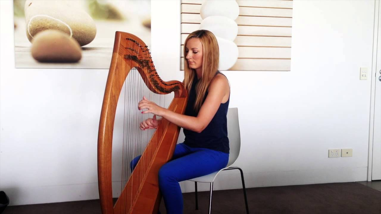 pachelbels canon on harp youtube
