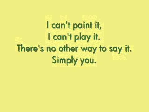 """Simply You"" by Secret Garden (with Lyrics)"