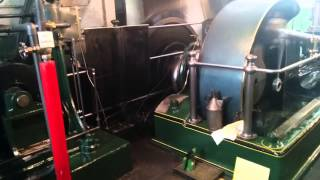1894 Steam Engine Startup & Run