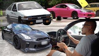新手學飄移記 & 1100匹 GTR R35 | Nissan Silvia S15 | Toyota AE86 | VLOG |
