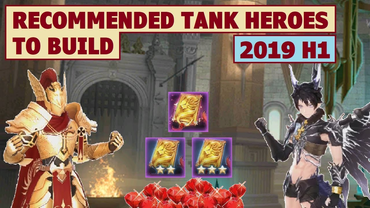 KingS Raid Best Tank 2019 King's Raid   Recommended Tank Heroes to Build (2019 H1)   YouTube