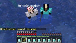MIJN ZUS AFKE DOET OOK MEE! - Minecraft Survival #2