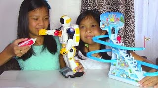 Speed Tech Radio Control Space Soldier Robot and Jolly Penguin Frisk Paradise - Kids