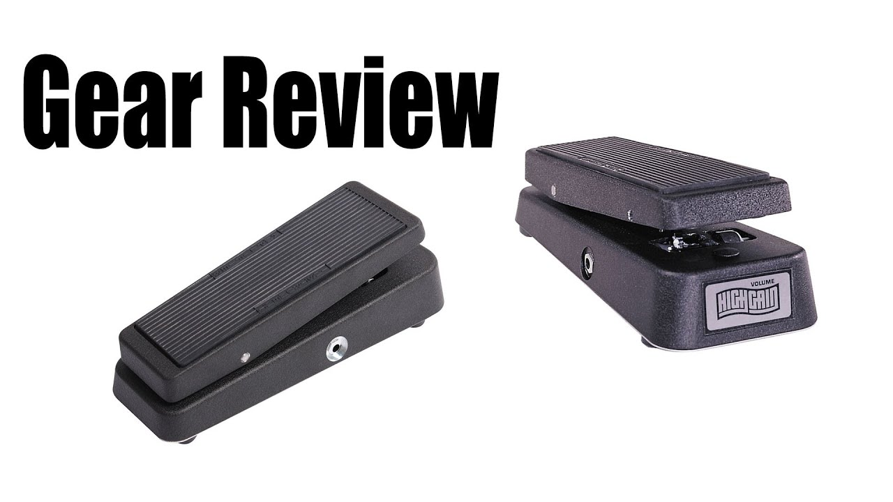 dunlop gcb 80 high gain volume pedal review youtube. Black Bedroom Furniture Sets. Home Design Ideas