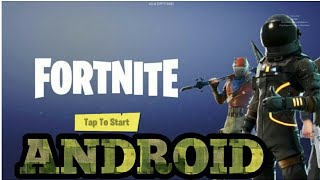 Get FORTNITE for android! (Pre-Register)
