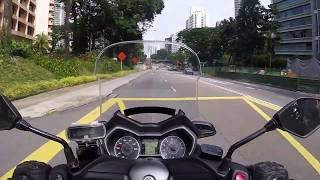 Yamaha Xmax 300 review with English subtitles.