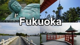 Best things to see in FUKUOKA・福岡 (Japan Travel Vlog #14)