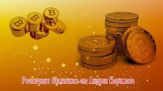 на Вебинаре А Керимова Розыгрыш биткоинов 13 10 16