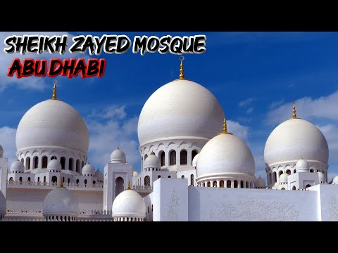 The Flowers of the Sheikh Zayed Mosque - Abu Dhabi